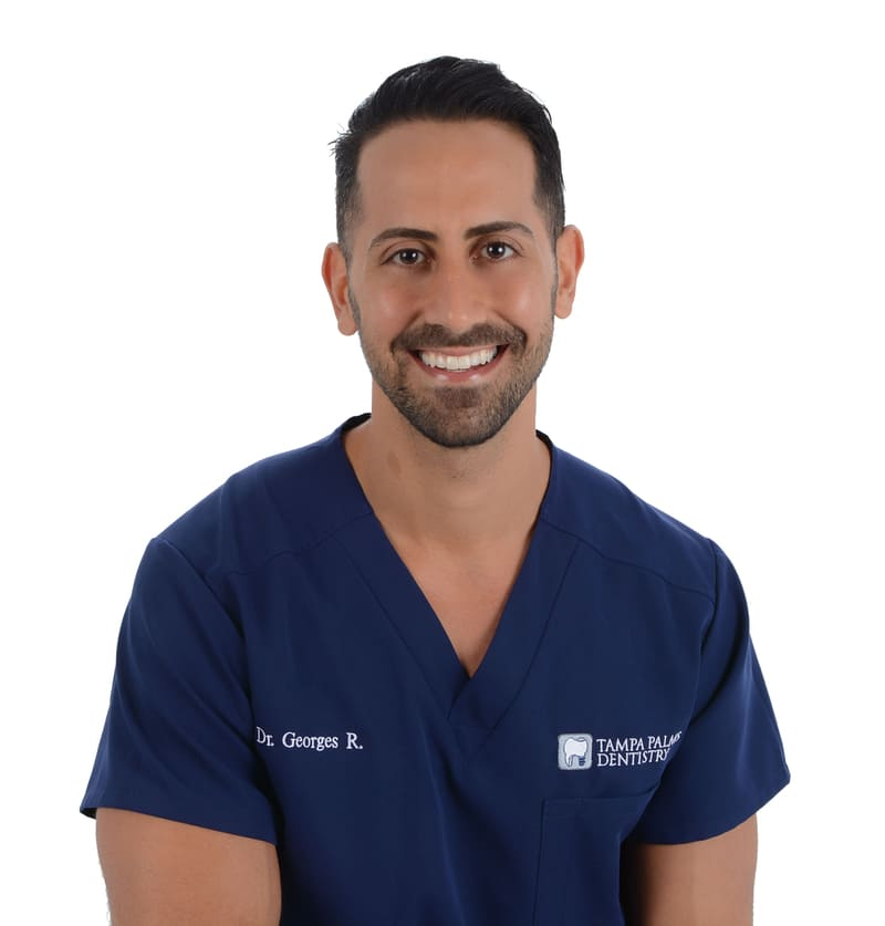 Headshot of Dr. Georges Raffoul from Tampa Palms Dentistry